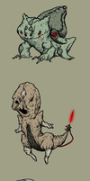 Silent Hill Pokemon by skellington1