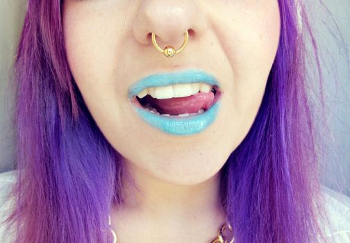 Blue Lips Are Love by OrdinaryThing