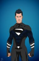 Earth-27's Superboy [Stealth-Tech] edit by Roysovitch
