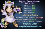 Commissions Price List by MagickDream