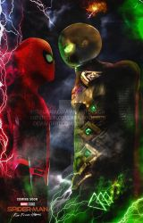 Poster: Spider-Man Far From Home 2019 by 4n4rkyX