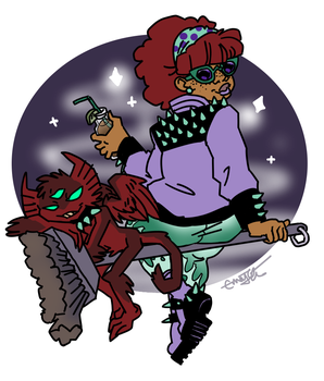 Persephone And Chrys Bein Fly by Underbase
