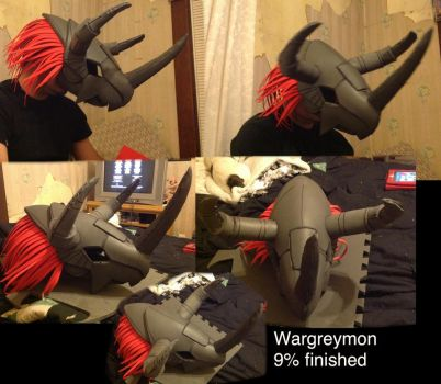 Wargreymon costume by joshsmithstudio