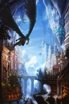 Winged City by Alayna