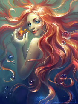 mermaid by sharandula