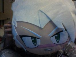 Toshiro two sided Pillow side 2 by wolfgirl247