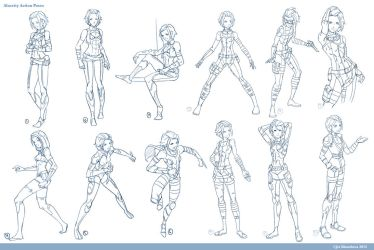Alacrity Action Poses by THEJETTYJETSHOW
