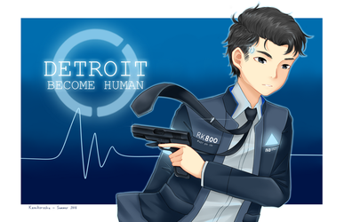 Android sent by Cyberlife by Kamikoroshu