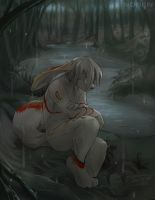 Commission - Sadness by Noben