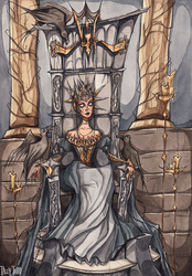 Upon Her Throne by TallyTodd