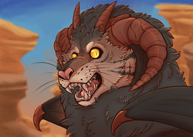 Manticore [ARK] by FluffZee