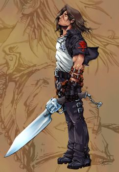 Squall Lionheart by TheRagingSpaniard