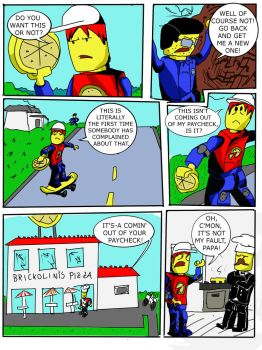 Lego Island Issue One, Page Two by Go-Faster-Wings