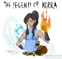 korra by michivvya