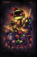 TMNT Mini Raph by RobDuenas