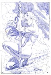 layout red Sonja by petervale