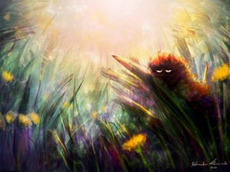 Speedpaint:The caterpillar by Uruczek