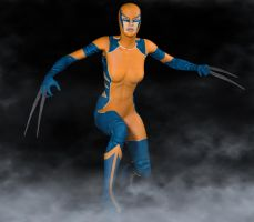 X-23 Wolverine 2nd skin textures for V4 by hiram67