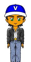 Chibi Vince (CL 2) front view by sthaque