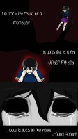 The Monster in my Head  by My-Senpai-Eren