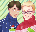 Christmas sweaters by MayStardust
