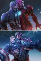 2016 Stony cooperate with  my friend by evilwinnie
