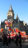 Chinese Dragon in Manchester by Spinneyhead