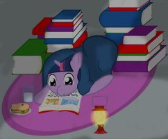 Night Reading by 2-Nobody-2