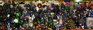 Every Doctor Who Creature Ever by ApocalypseCartoons