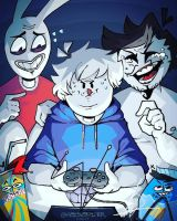 Oneyplays 'n Friends by FizzyBoba