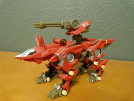 Zoids: Fire Fox Shadow Fox by gamercolin