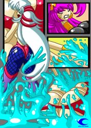 Isoulde in action_6 by Animewave-Neo