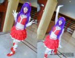 King of fighters Athena Asamiya 2003 by AngelaLara