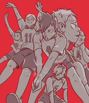 But we are Nekoma by reblog
