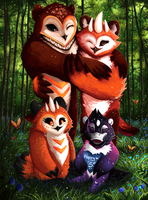 Taum Family by Nat-4rts