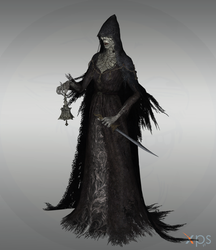 Bloodborne - Bell-ringing Woman by Bringess