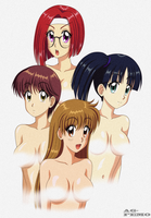90s Eroge Girls by AG-Femo