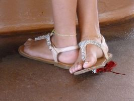 Crushed Beneath Her Sandals by GiantessPics