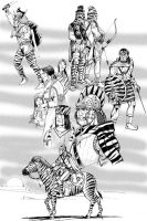 Zebra People by Scravagghiupilusu959