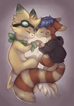 Ethan and Maudchu Chibis [COMM] by Taluns
