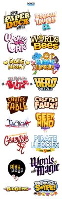 Logos by dom2d