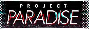 Project Paradise AU Logo by SpeendlexMK2