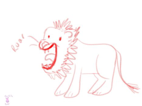 Derp the Lion by ChinchillaPuff