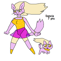 Dancia the cat -adoptable -- 7 pts (closed) by SonicLover1523