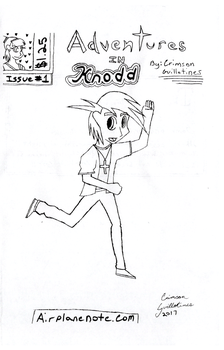 Adventures in Knodd Title Page Issue One Download by WhiteShoeQueen