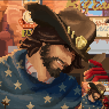 [Port] Name's McCree by Crossroads-King