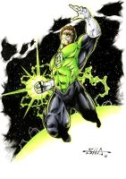 Green Lantern by Killersha