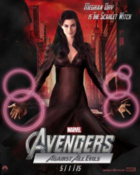 Meghan Ory as Scarlet Witch (in Avengers 2) by njferns