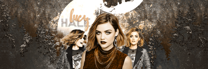 Lucy Hale Header by RikkutheThief