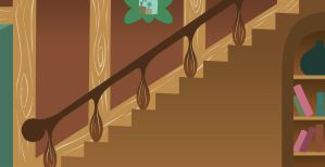 MLP Background: Fluttershy's staircase by grievousfan